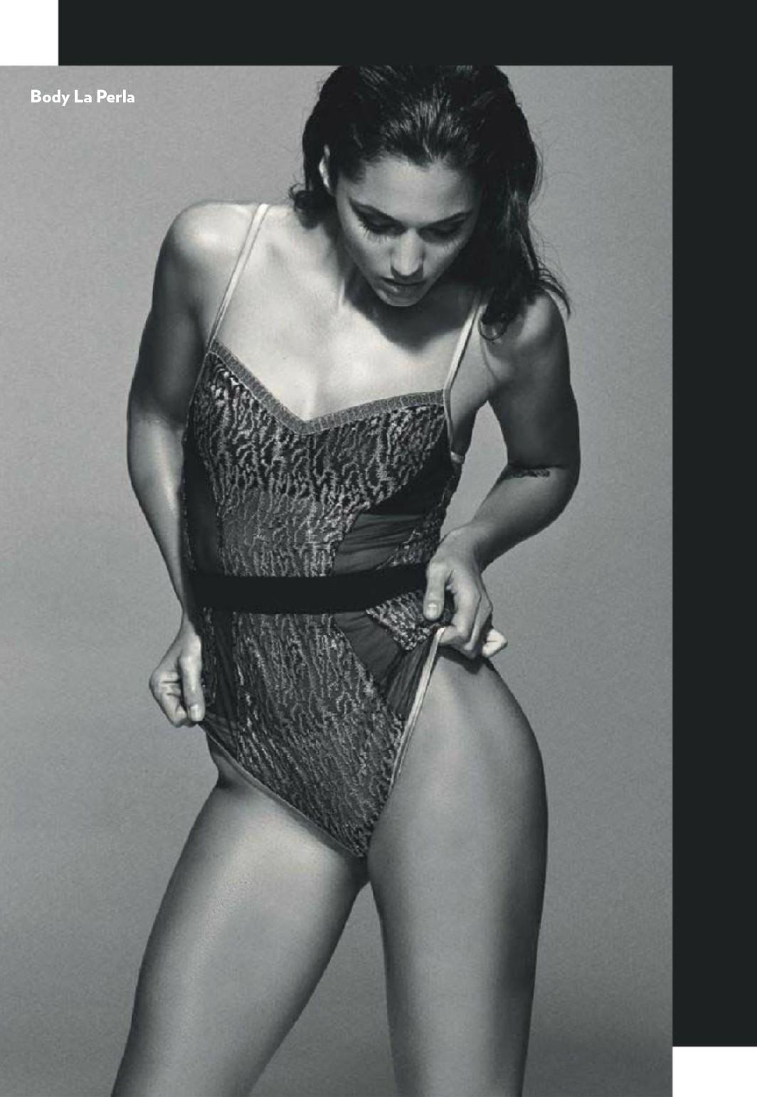 Michelle Calvo sin ropa