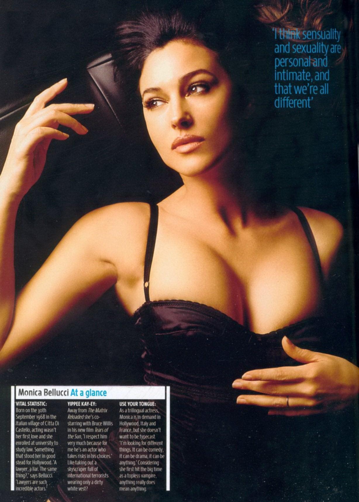Monica Bellucci desnudas follando