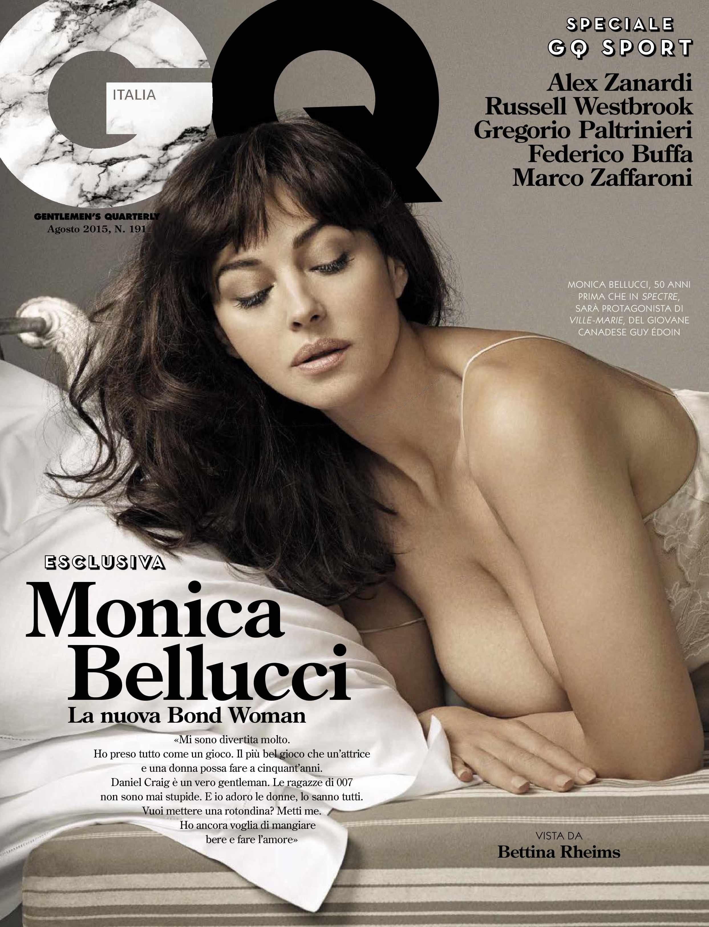 Monica Bellucci famosas modelos