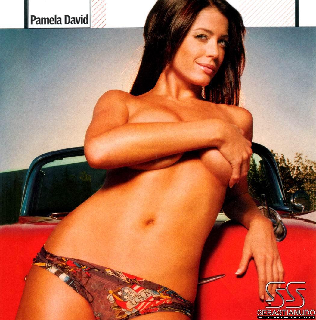 Pamela David desnuda película