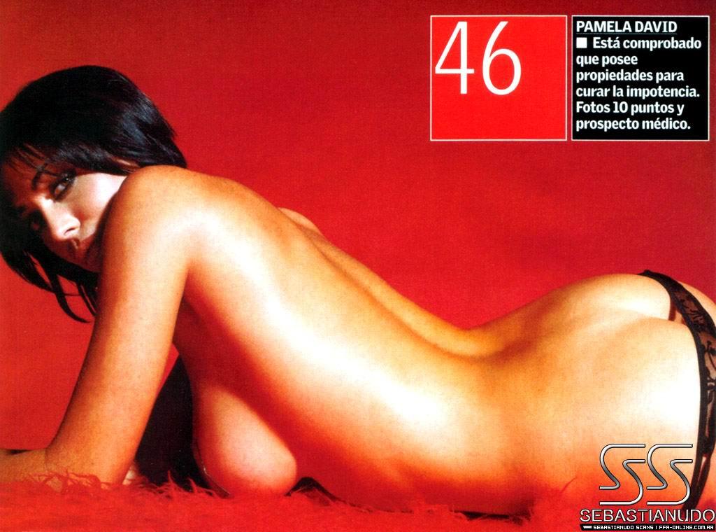 Pamela David famosas modelos
