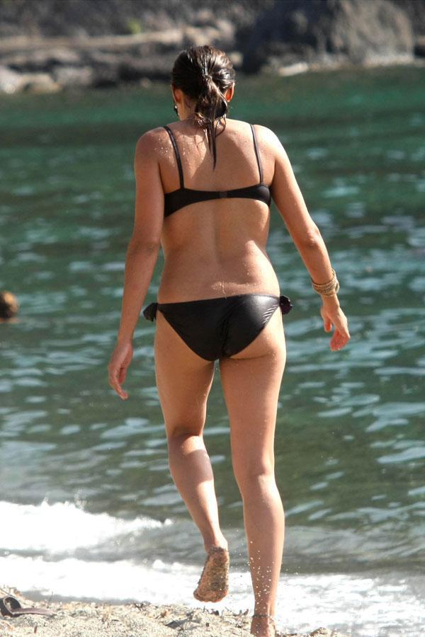 Rosario Dawson sin ropa interior