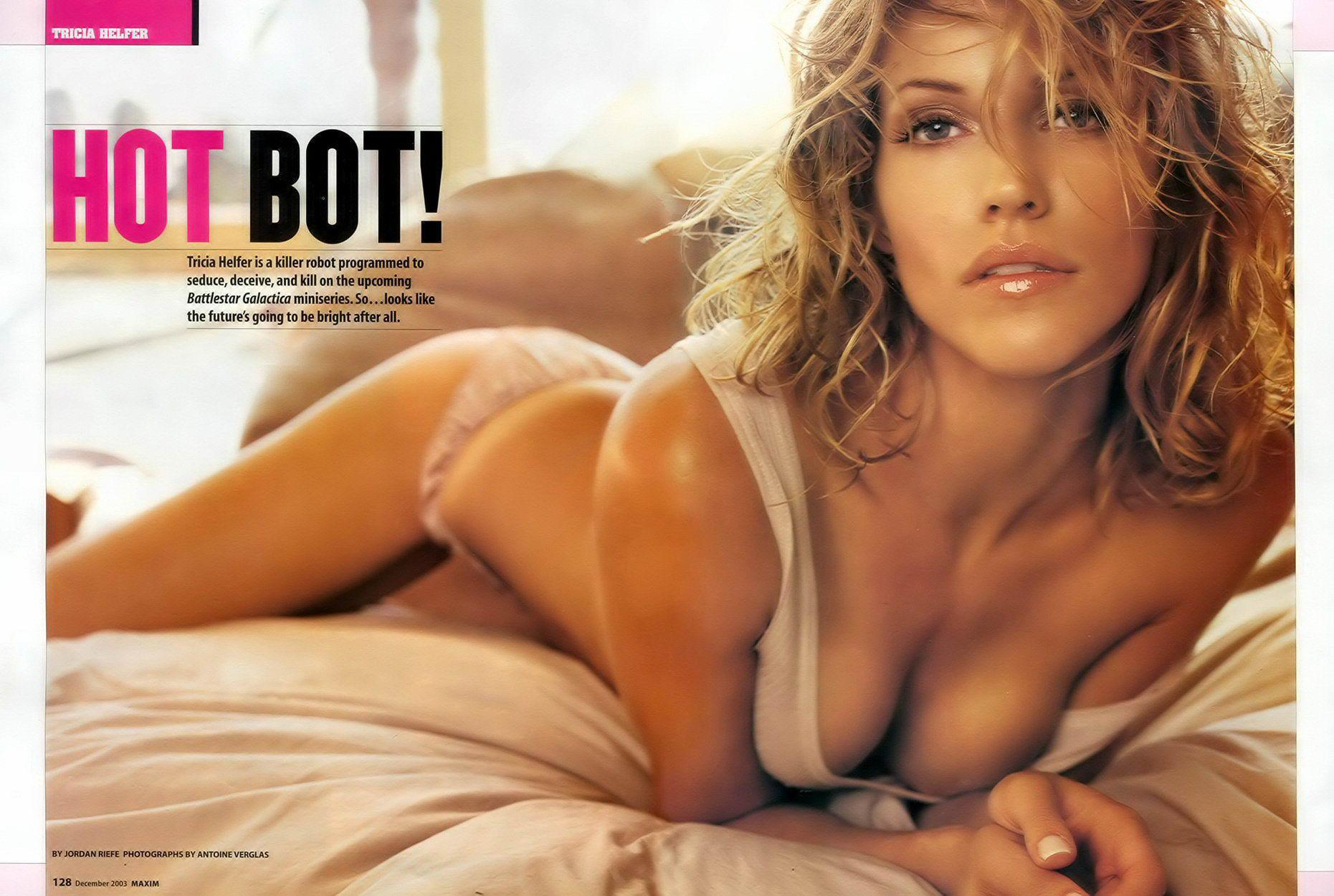 Tricia Helfer sexuales