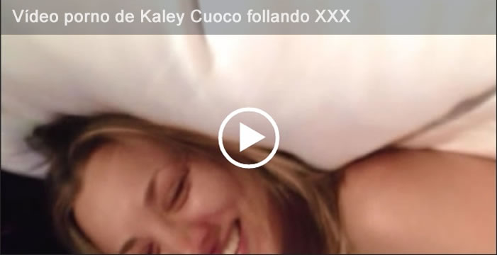 Vídeo porno de Kaley Cuoco