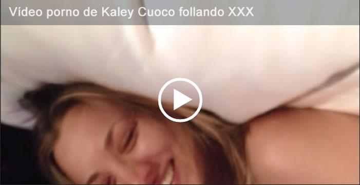 Vídeo porno de Kaley Cuoco