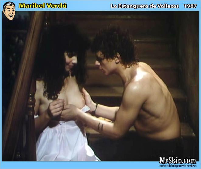famosa Maribel Verdu desnuda
