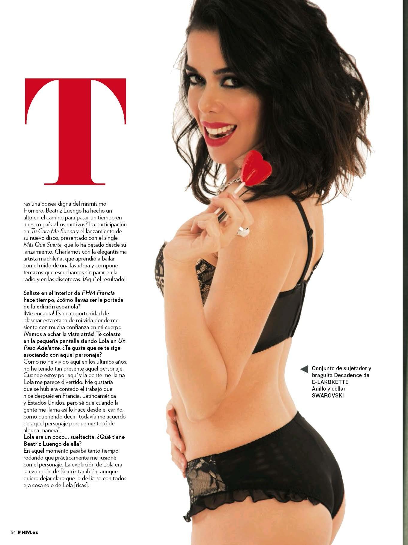 fotos Beatriz Luengo desnuda