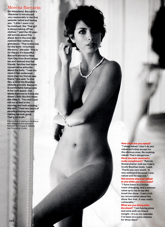 Las Fotos Privadas De Morena Baccarin Desnuda