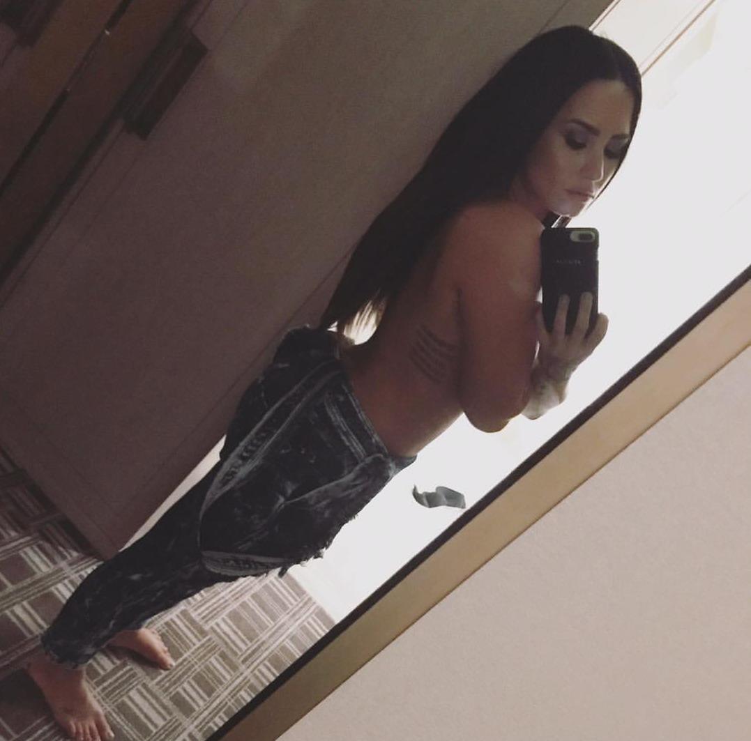 Demi Lovato coño