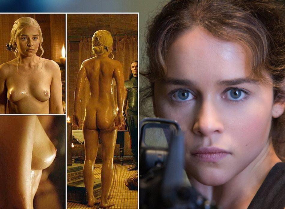 Emilia Clarke culos