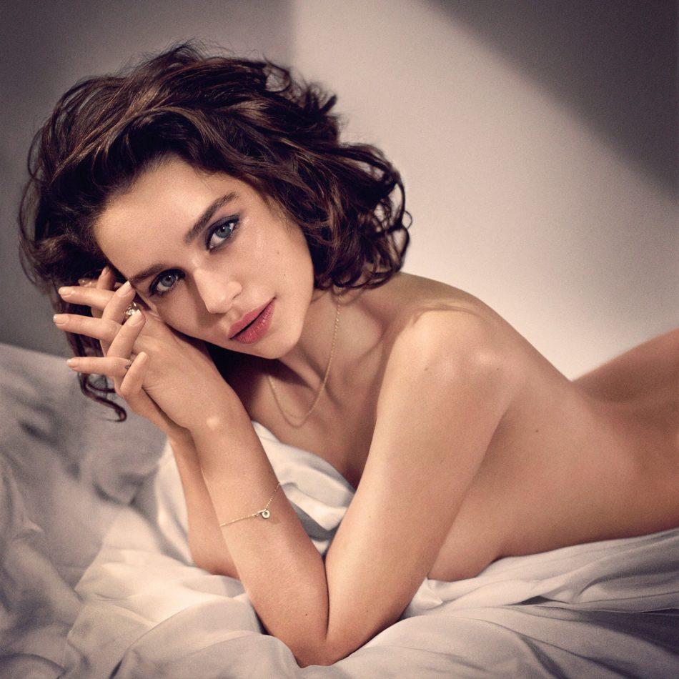 Emilia Clarke topless 1