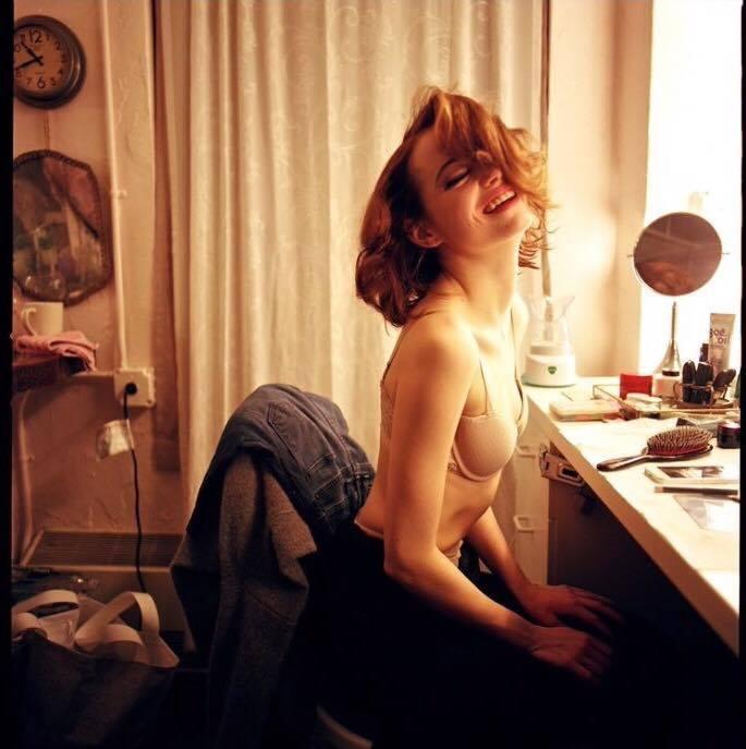 Emma Stone coño