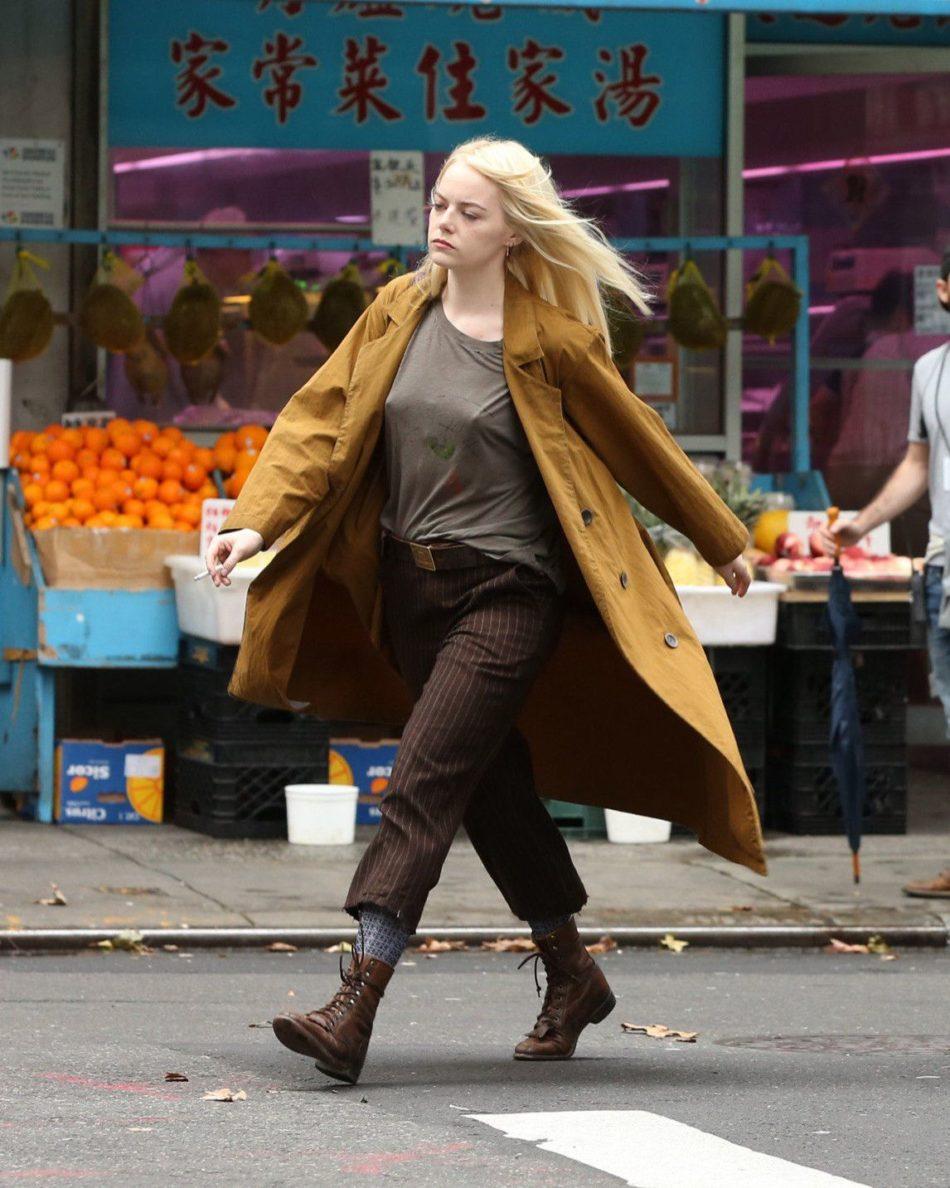 Emma Stone ropa interior