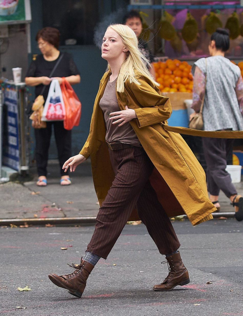 Emma Stone sexo en público