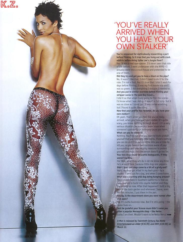 Halle Berry zorras