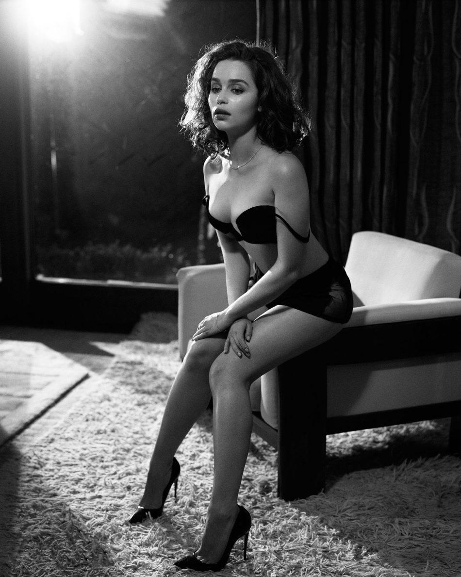 descuidos de Emilia Clarke