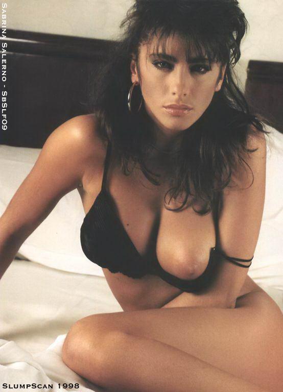 Sabrina Salerno pillada desnuda