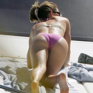 Jessica Biel masturbándose