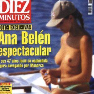 Ana Belen pillada desnuda