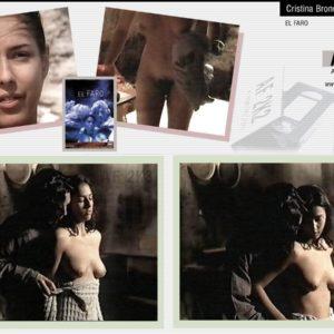 Cristina Brondo desnuda coño