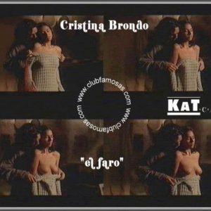 Cristina Brondo totalmente desnuda