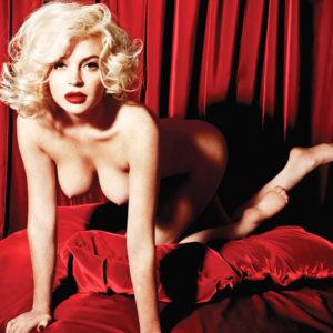 Lindsay Lohan desnudarse