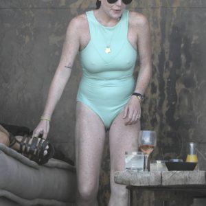 Lindsay Lohan vagina