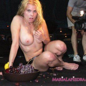 Maria Lapiedra desnuda porno