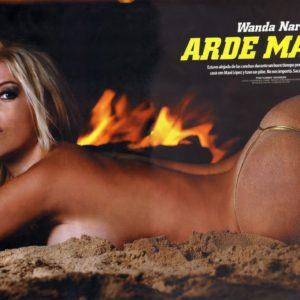 Wanda Nara cachondo