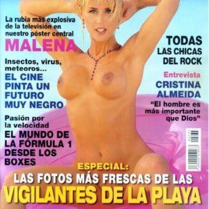 vídeo real robado de Malena Gracia