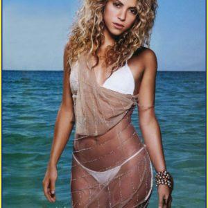Shakira pezón