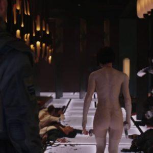 Scarlett Johansson desnudo en la cama