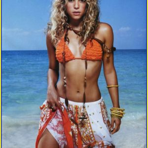 Shakira sin ropa