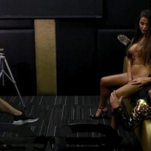 Violeta Mangrinan desnudos