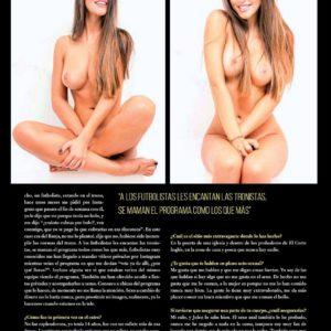 Violeta Mangriñán tetas